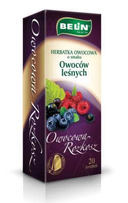 Herbatka owocowa o smaku owoców leśnych